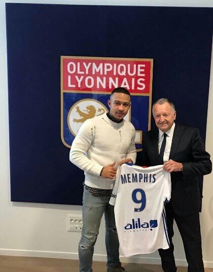 Ligue 1 - Lyon officialise la venue de Memphis Depay
