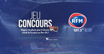 concours OL-Nice RFM Lyon