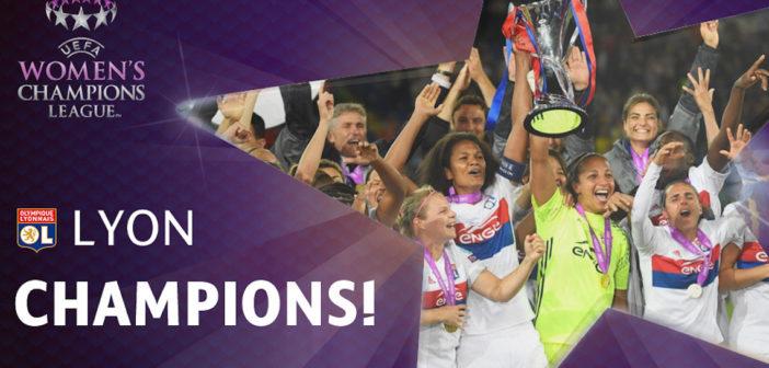 L'OL Féminin remporte la Champions League !