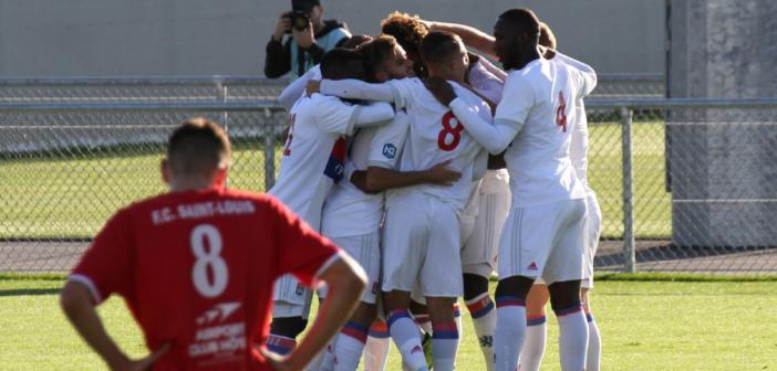 [Photos] La réserve de l'OL écrase Saint-Louis Neuweg (5-0)