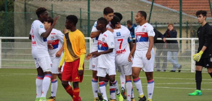 [Photos] Les U17 s'imposent à Saint-Priest (2-3)