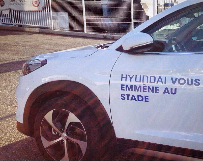 [On a testé…] L'expérience #PartagerTucson Hyundai pour OL-Bastia