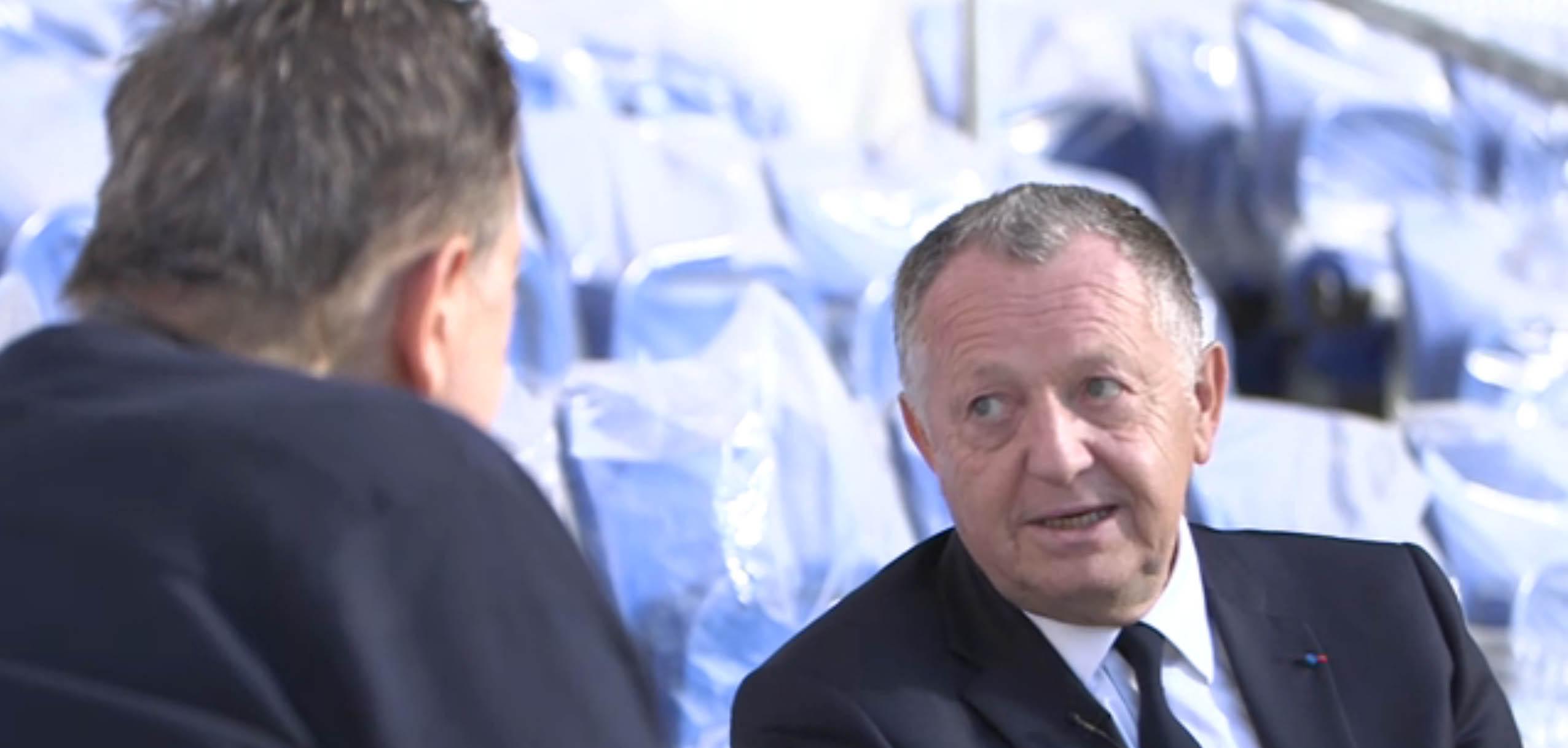 L'interview de Jean-Michel Aulas pour le CFC
