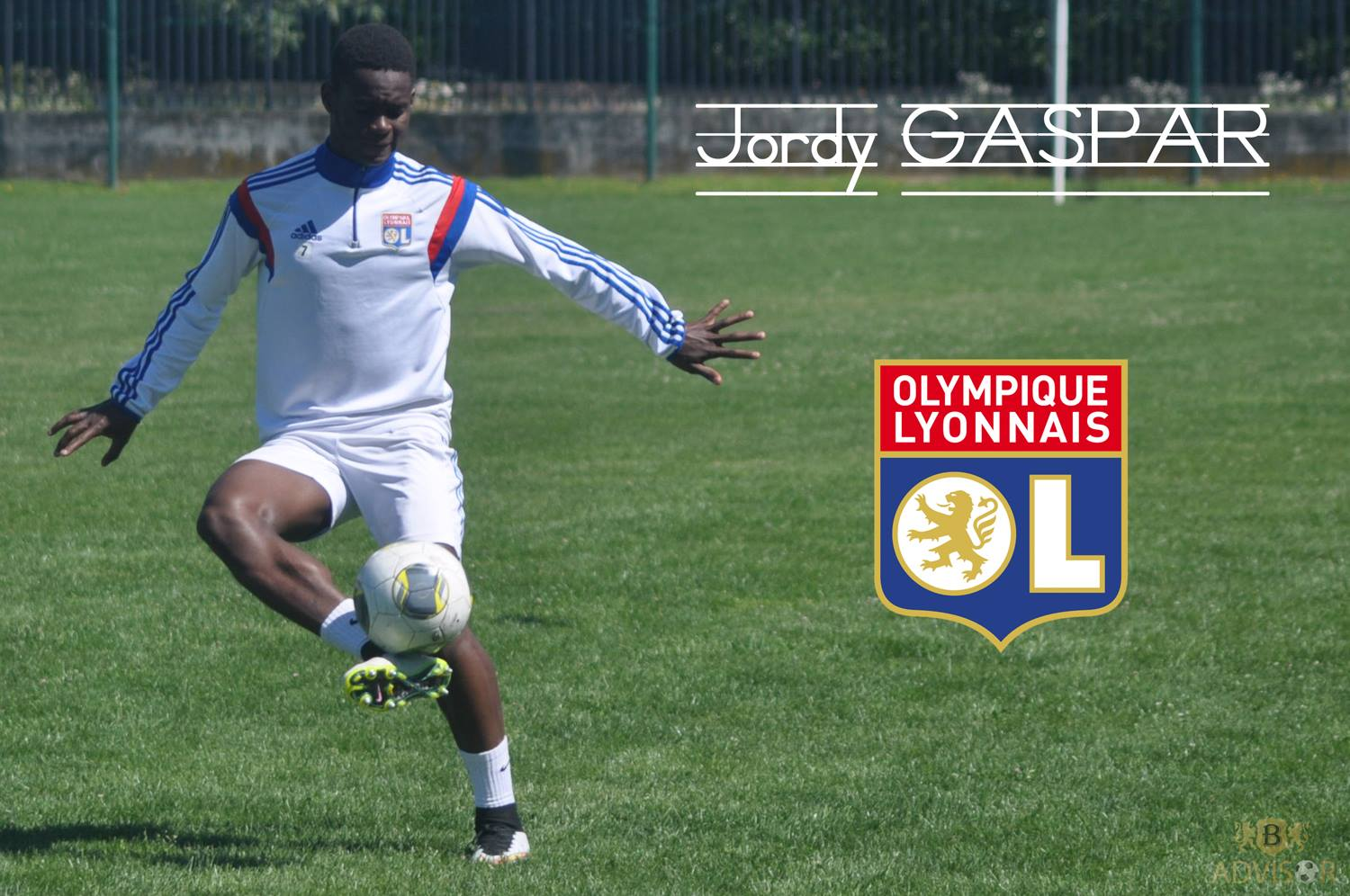 Photo : Facebook officiel Jordy Gaspar