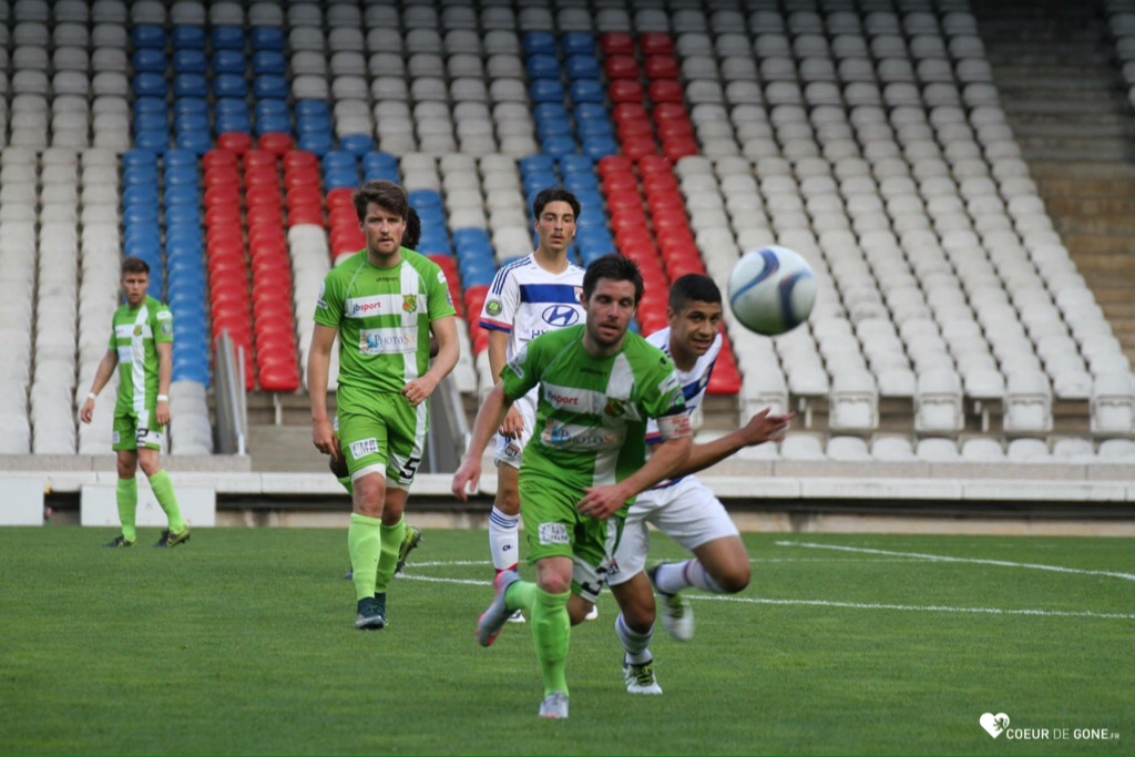 [Photos] CFA  Défaite 4-3 face à Yzeure