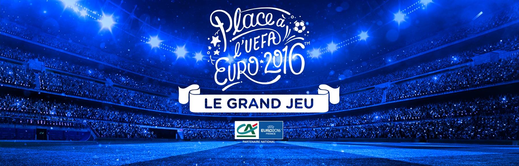 [Euro 2016] Places et cadeaux à gagner avec Crédit Agricole