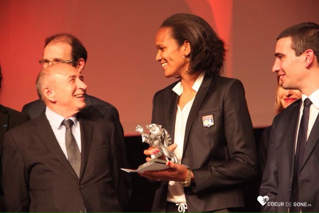 [Lions du Sport] Mélina Robert-Michon, l'OL Féminin & Franck Solforosi récompensés