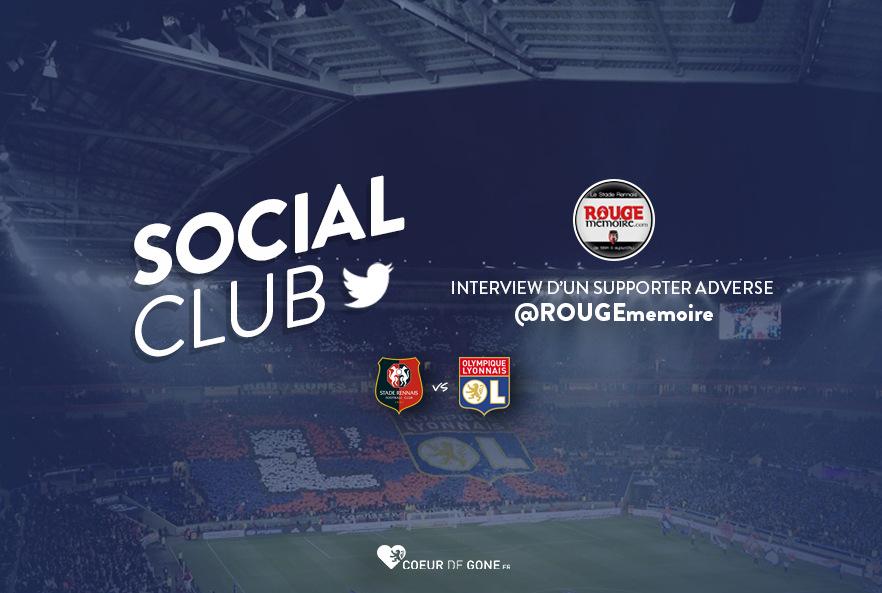 [SRFC-OL] Social Club avec @ROUGEmemoire