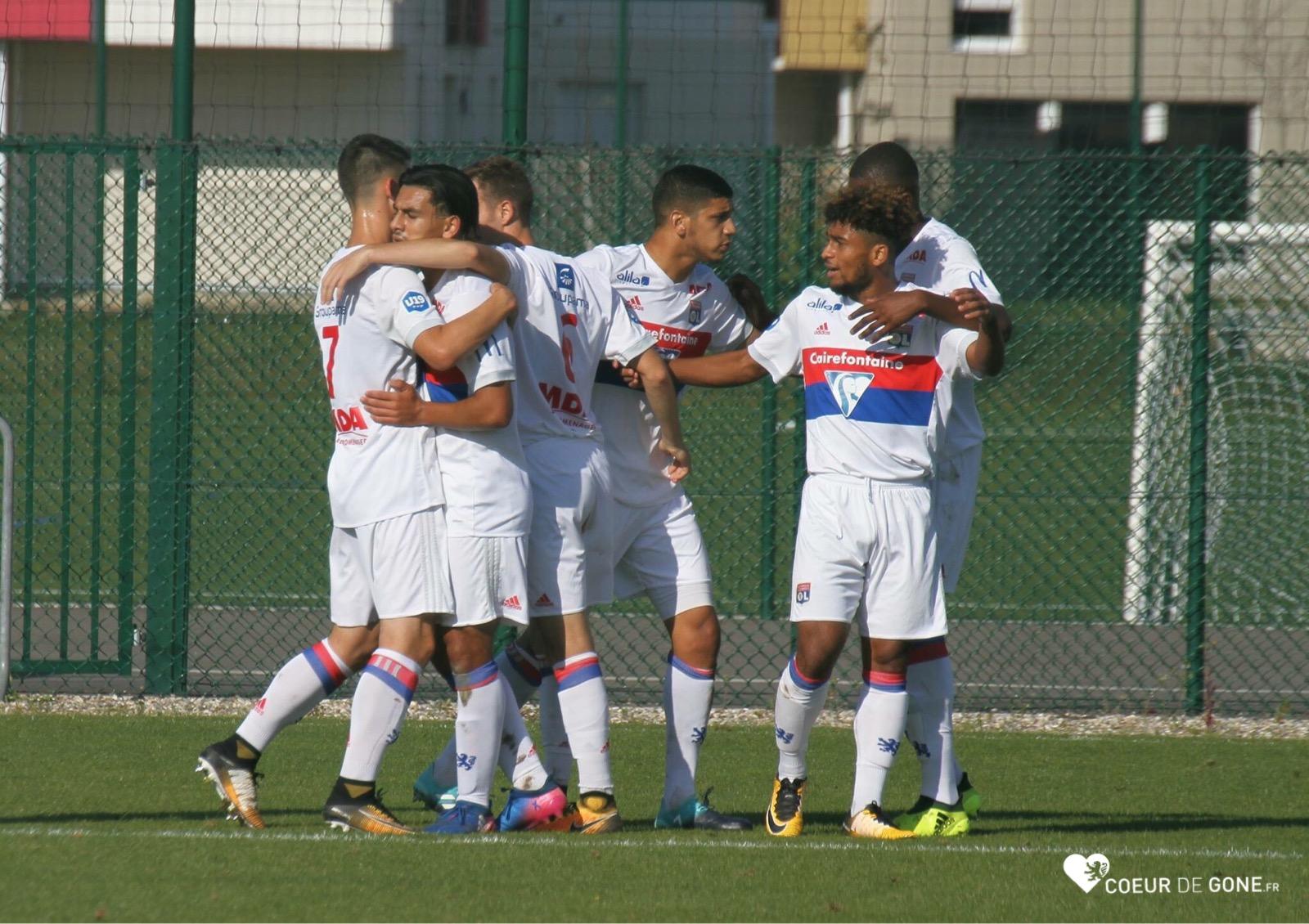 [Photos] Belle victoire des U19 face à Reims (3-0)