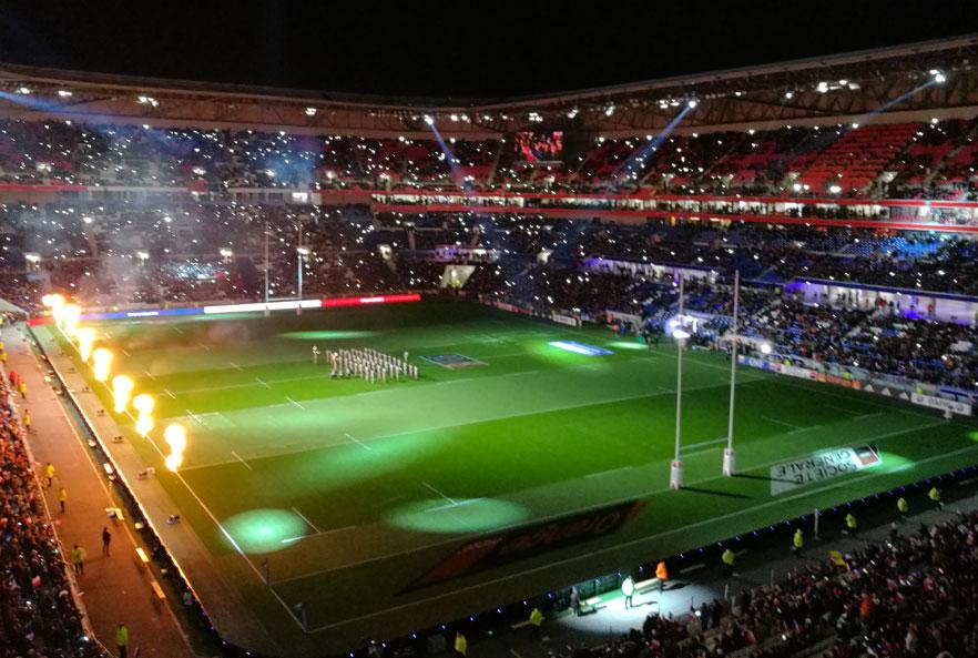 La Coupe du Monde de Rugby 2023 se déroulera en France avec des matchs à Lyon