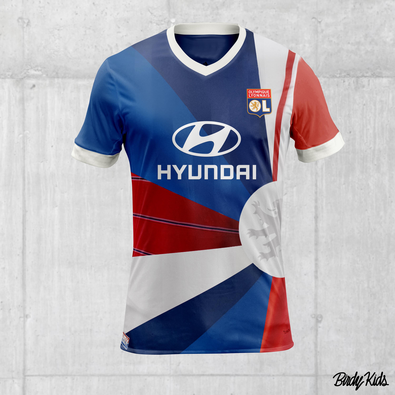 maillot entrainement Olympique Lyonnais ÉQUIPE
