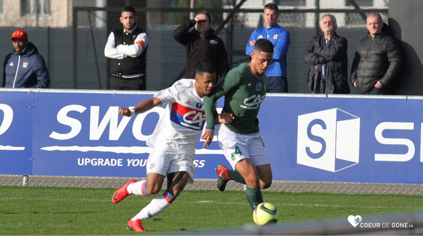 [Photo] L'OL sort de la Coupe Gambardella…