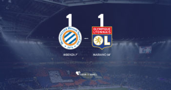 Montpellier OL 1-1