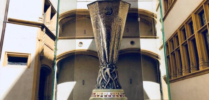 Le Trophée de l'Europa League exposé à Lyon jusqu'au 15 mai 2018