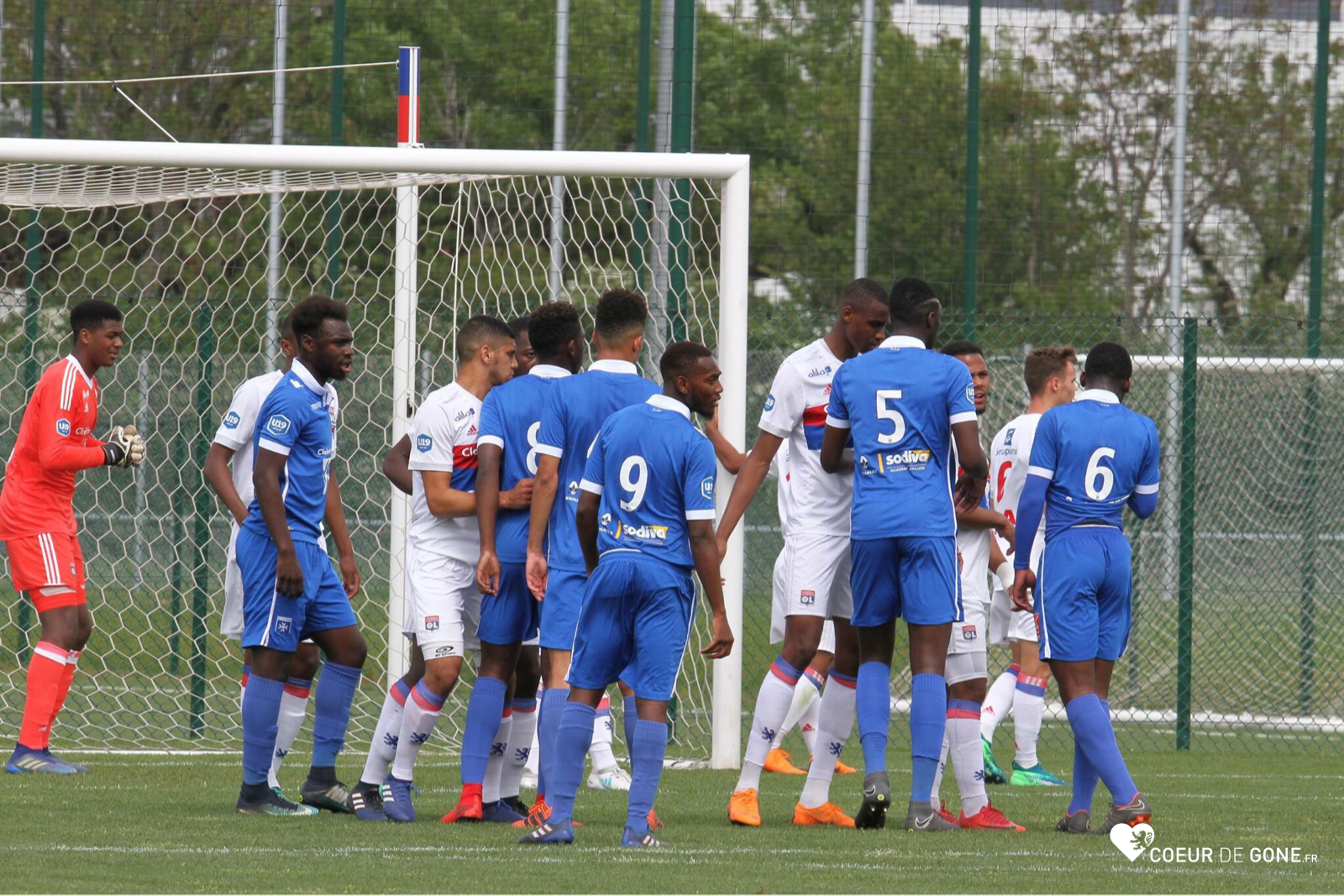 [Photos] Les U19 dominent le leader Auxerre (4-1)