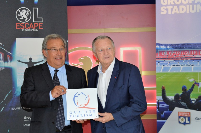 Le Groupama Stadium reçoit le Label « Qualité Tourisme™ »