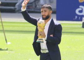 [Photos]Nabil Fekir et la Coupe du Monde au Groupama Stadium