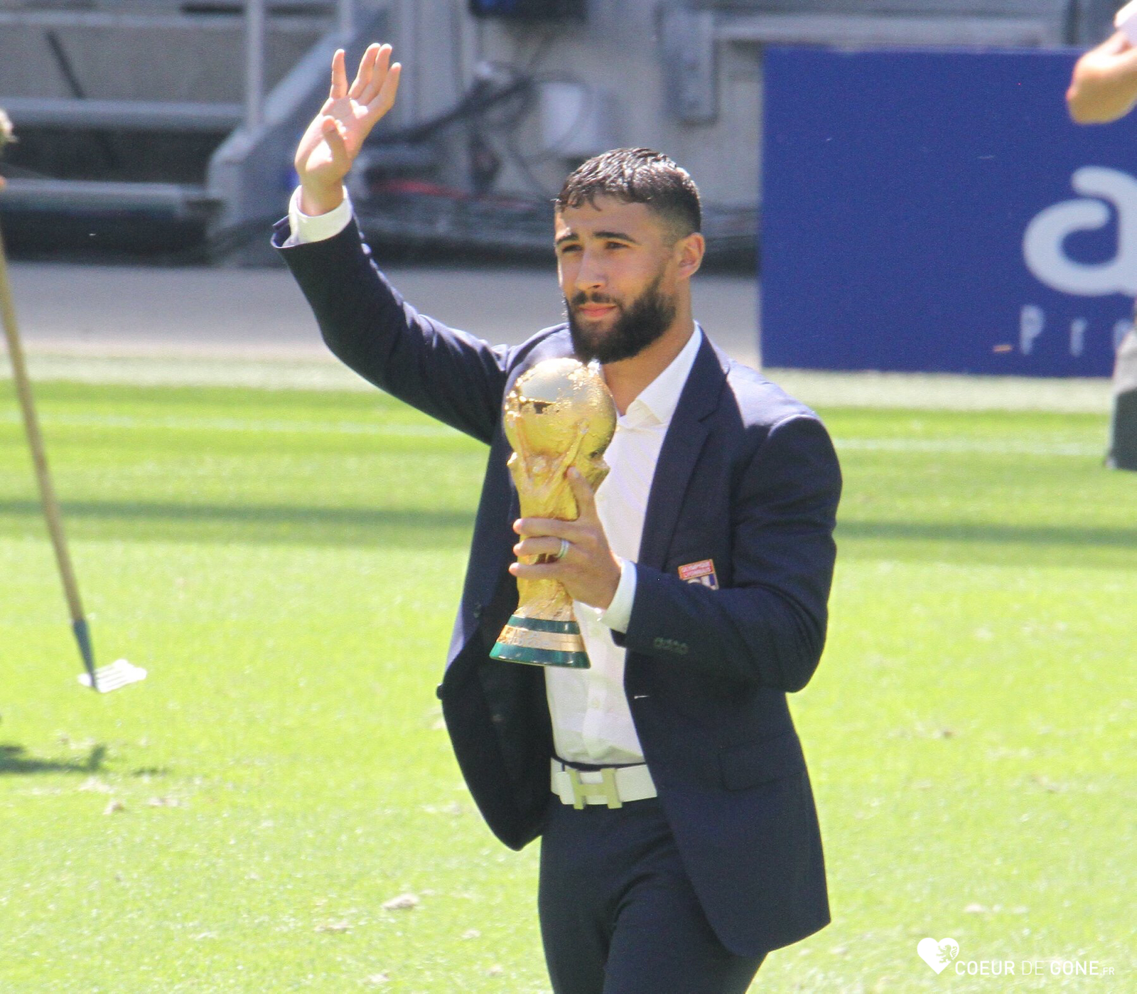 [Photos] Nabil Fekir et la Coupe du Monde au Groupama Stadium