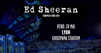 Ed Sheeran au Groupama Stadium le 24 mai 2019