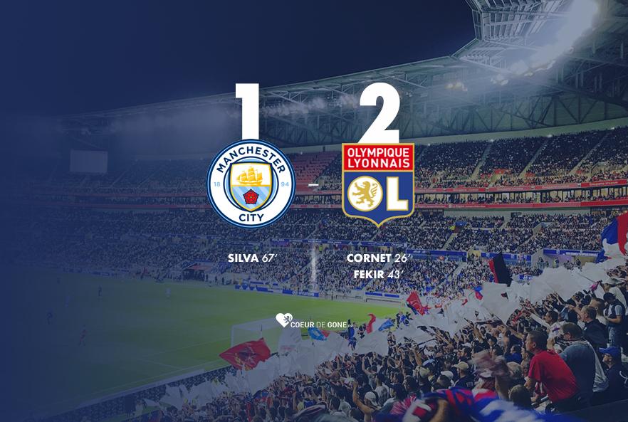 [Manchester City 1-2 OL] L'OL réalise l'exploit!