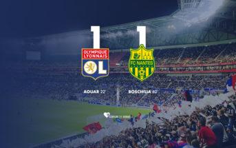 OL Nantes 1-1