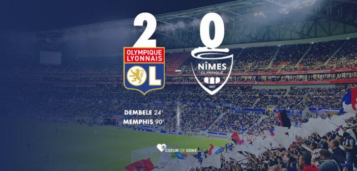 [OL 2-0 Nîmes] L'OL s'évite une crise