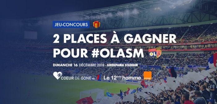 Gagnez vos places pour OL-Monaco grâce à Orange et au 12ème Homme !