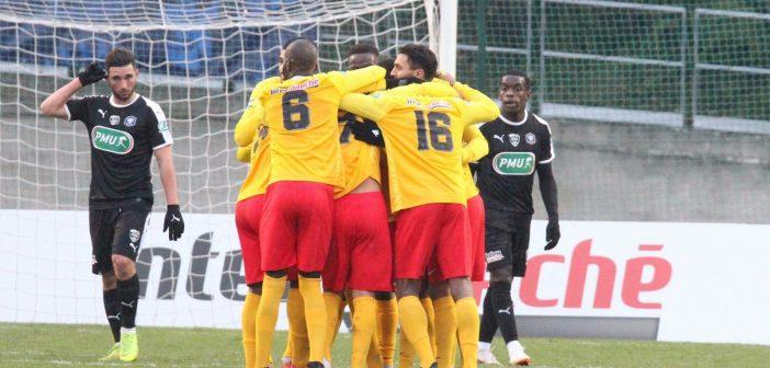 [Photos] Retour sur l'exploit de Lyon Duchère face à Nîmes en Coupe de France