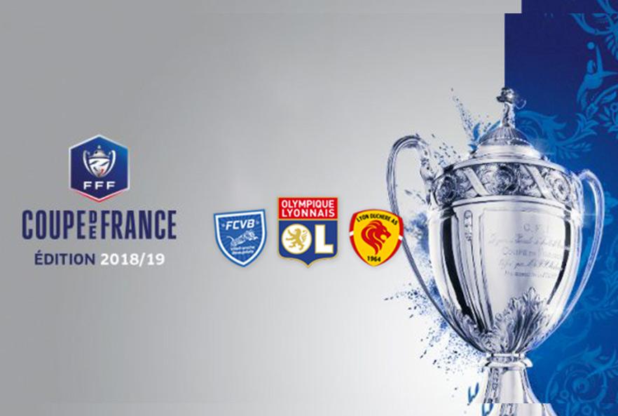 [Coupe de France] L'OL retrouve Amiens, un derby pour Lyon Duchère, les finalistes pour Villefranche