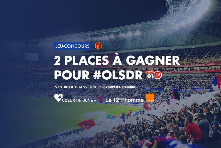 Gagnez vos places pour OL-Reims grâce à Orange et au 12ème Homme !