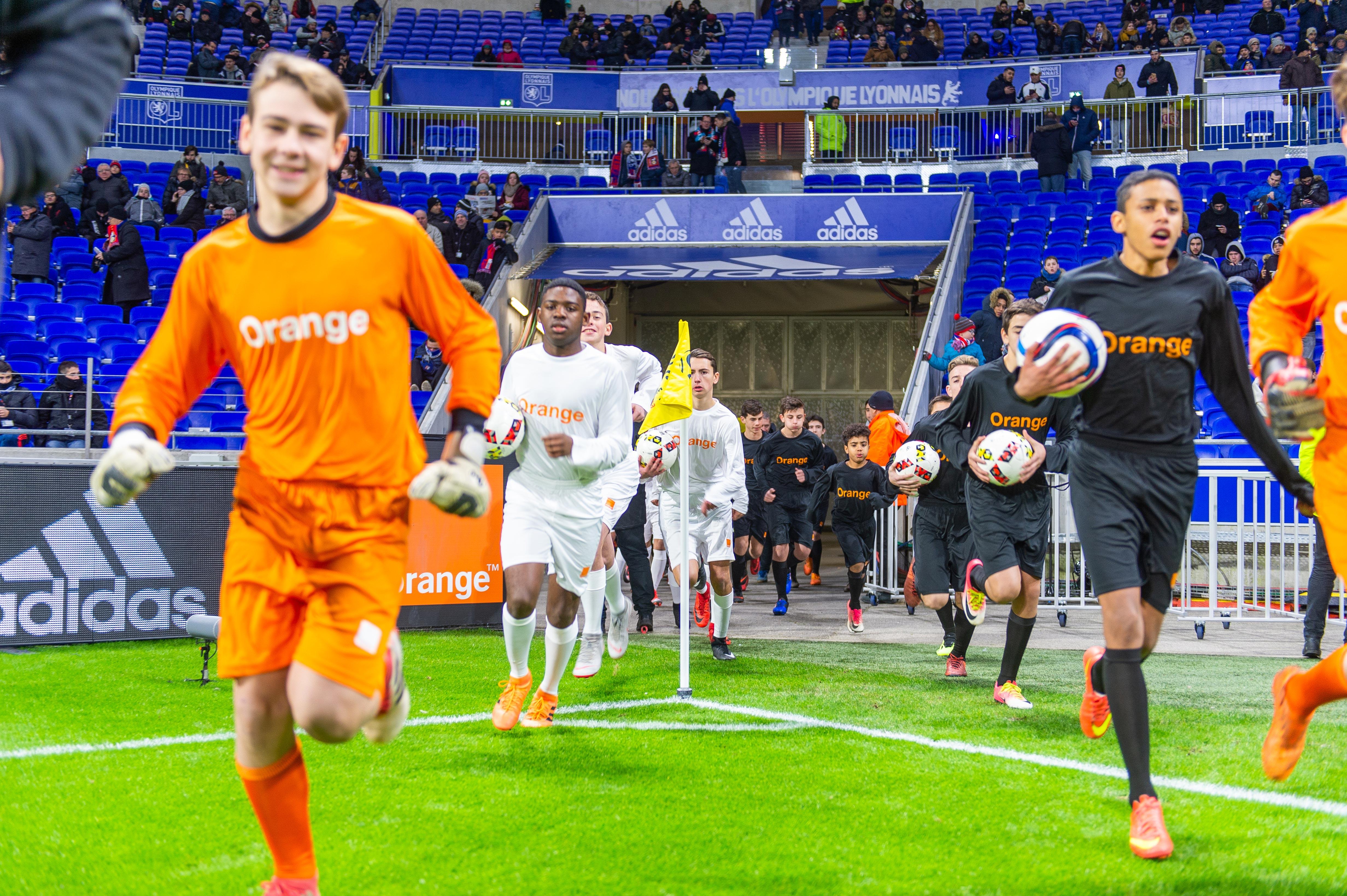 Orange Football Challenge