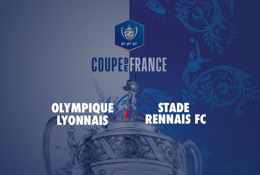 [Coupe de France] L'OL recevra Rennes pour une place en finale