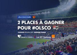 Gagnez vos places pour OL-Angers avec Orange et Le 12ème Homme !