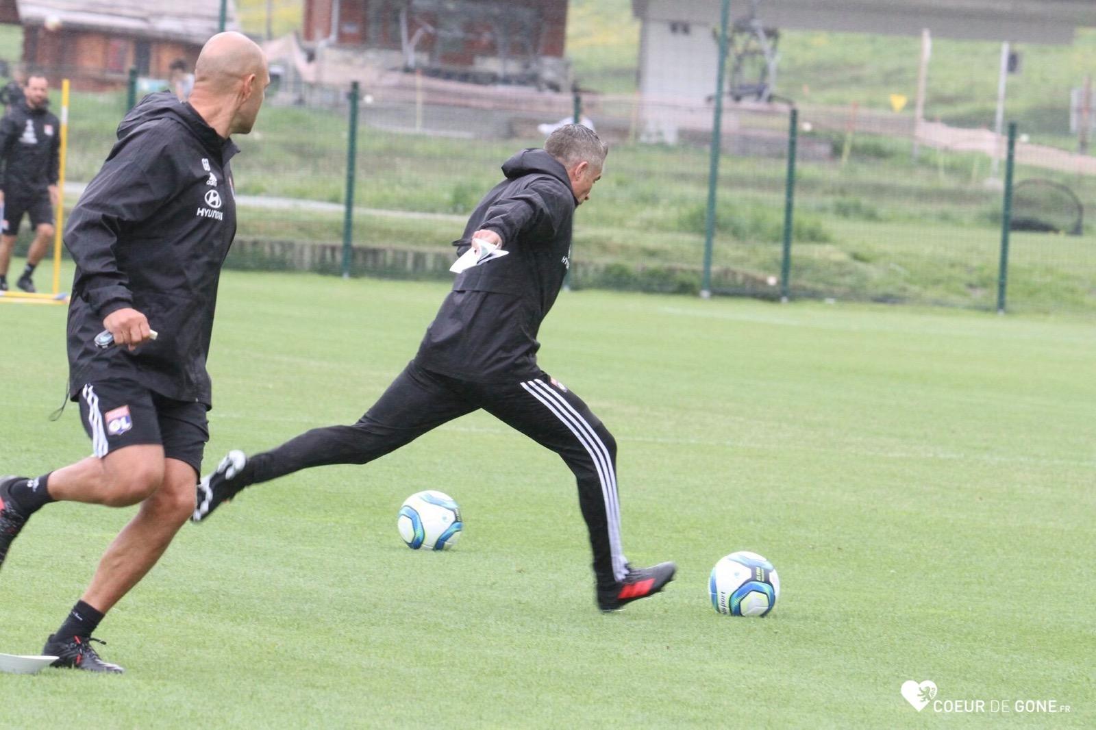 [Photos] L'entraînement du 9 juillet à Tignes