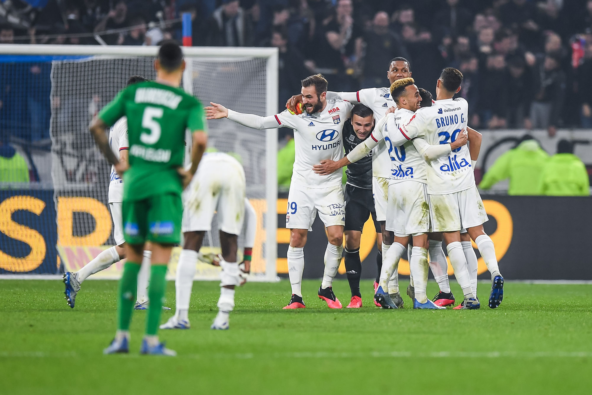 [OL 2-0 ASSE] Lyon dompte la panthère stéphanoise