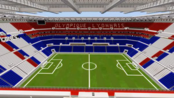 Groupama Stadium Minecraft