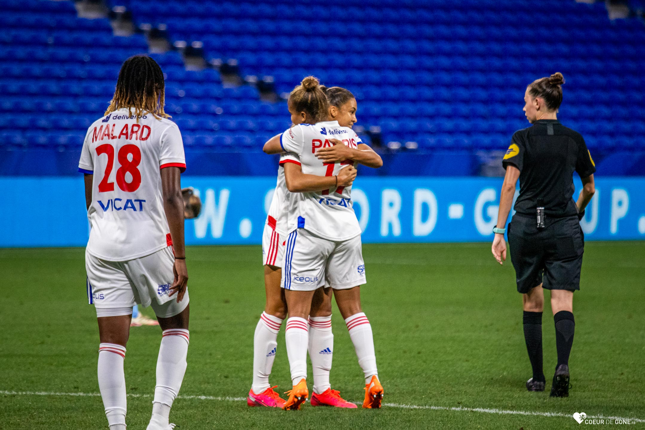 [Photos] Trophée Veolia : les Lyonnaises déroulent face au PSV